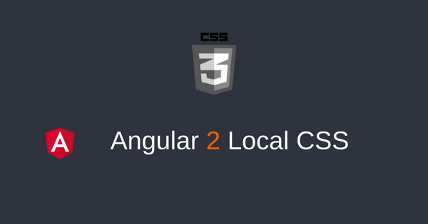 Local CSS
